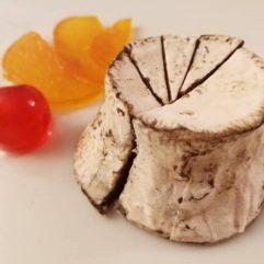 A crosta bianca fiorita