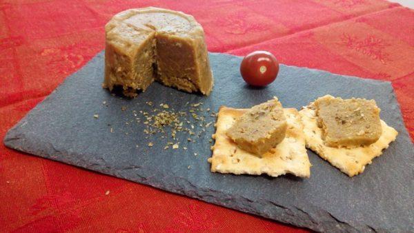 vegan parmesan style - vegan cheese